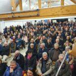 Une assemblée nombreuse à la réunion publique fibre de La Saussaye
